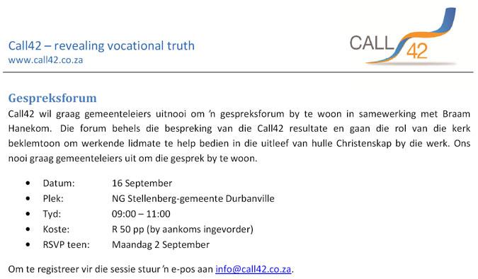 Forum-Call42