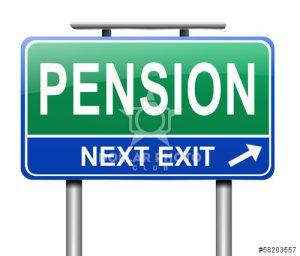 Pension next exit