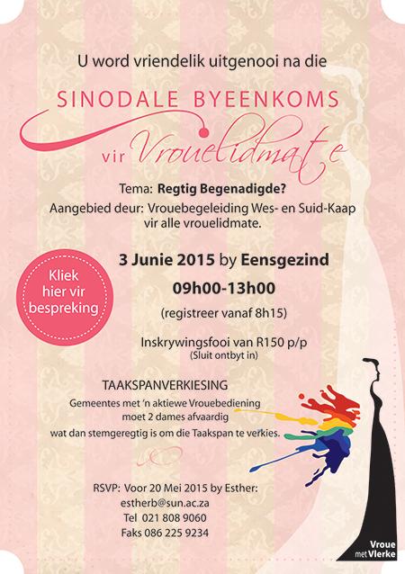 uitnodiging sinodale byeenkoms 2015