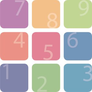 9 blokke